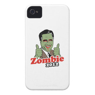 Romney Zombie 2012.png iPhone 4 Case-Mate Case
