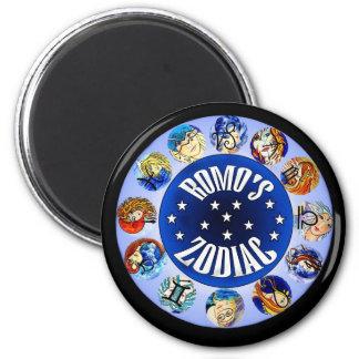 Romo's ZODIAC.. 6 Cm Round Magnet