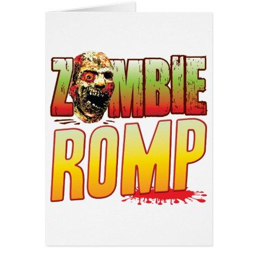 Romp Zombie Head Cards