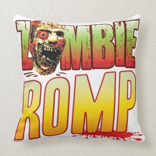 Romp Zombie Head Pillows