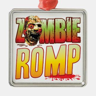 Romp Zombie Head Christmas Ornament