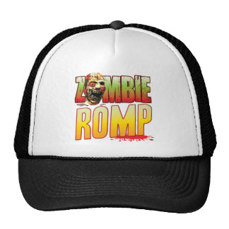 Romp Zombie Head Mesh Hats
