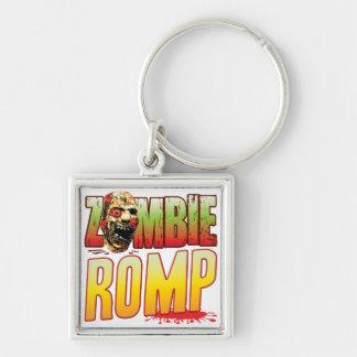 Romp Zombie Head Key Chains