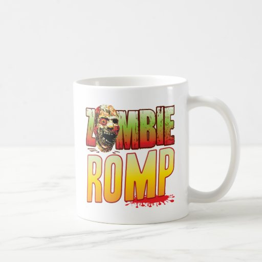 Romp Zombie Head Mug