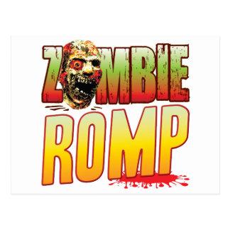 Romp Zombie Head Postcards
