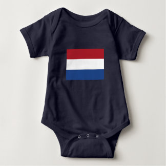 Romper Dutch flag. Baby Bodysuit