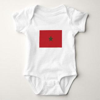 Romper Moroccan flag. Baby Bodysuit