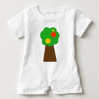 Romper with tree reasons baby bodysuit