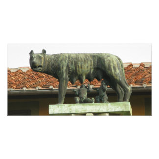 Romulus and Remus - Ancient Rome Picture Card