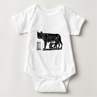 Romulus and Remus Roman Mythology Baby Bodysuit