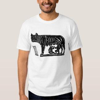 Romulus and Remus Roman Mythology T Shirt