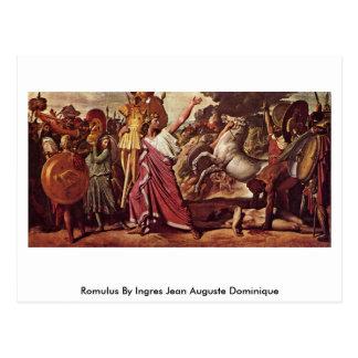 Romulus By Ingres Jean Auguste Dominique Postcard