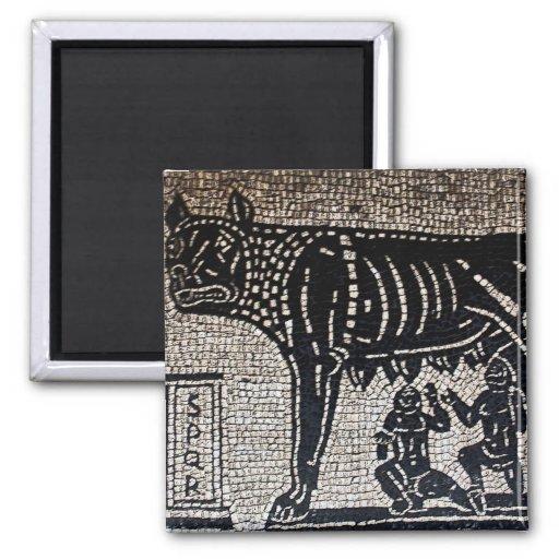 Romulus & Remus Fridge Magnet