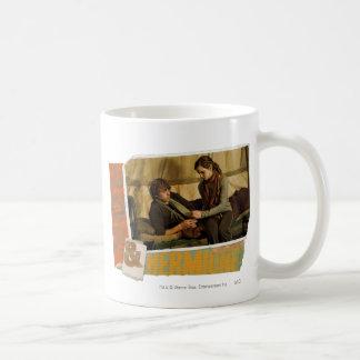 Ron and Hermione 1 Basic White Mug