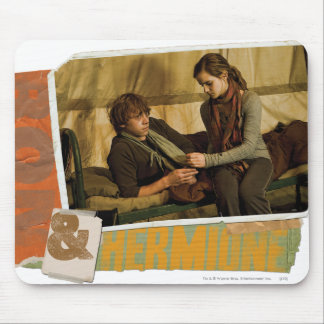 Ron and Hermione 1 Mouse Pad