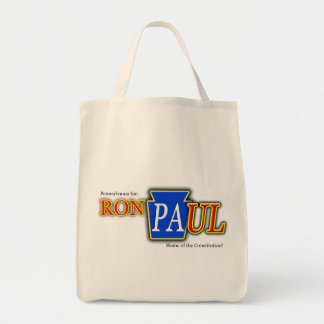 Ron_Pa-ul Grocery Tote Bag