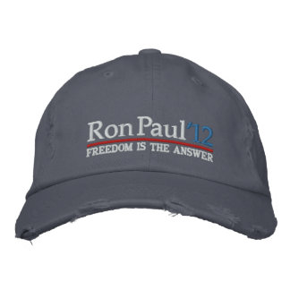 Ron Paul '12 Embroidered Hat