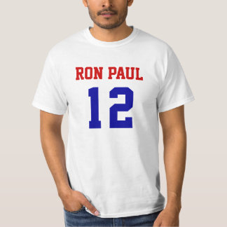 RON PAUL 12 VALUE T-SHIRT