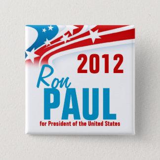 Ron Paul 15 Cm Square Badge