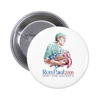 Ron Paul 2008 - Customized 6 Cm Round Badge