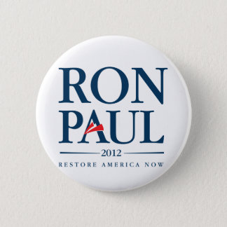 Ron Paul 2012 6 Cm Round Badge