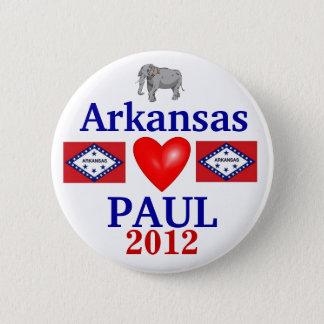 Ron Paul 2012 Arkansas 6 Cm Round Badge