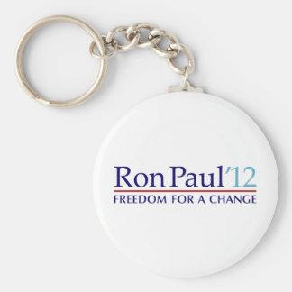 Ron Paul 2012 Basic Round Button Key Ring