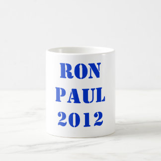 RON PAUL 2012 BASIC WHITE MUG