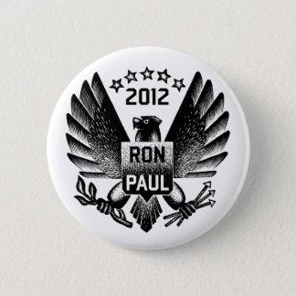 Ron Paul 2012 Black Eagle 6 Cm Round Badge