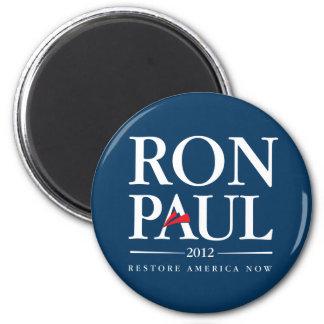 Ron Paul 2012 (Blue) 6 Cm Round Magnet