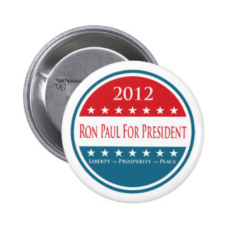 Ron Paul 2012 Button