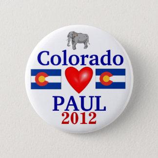 Ron Paul 2012 Colorado 6 Cm Round Badge