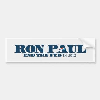 Ron Paul 2012 - End the Fed Bumper Sticker