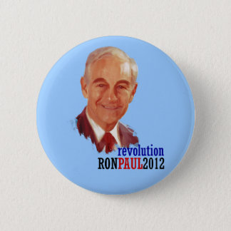 Ron Paul 2012 for President 6 Cm Round Badge
