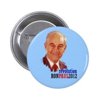 Ron Paul 2012 for President 6 Cm Round Badge
