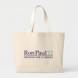 Ron Paul 2012 Jumbo Tote Bag