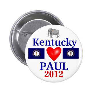 Ron Paul 2012 Kentucky 6 Cm Round Badge