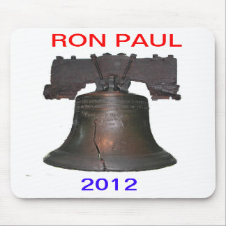 Ron Paul 2012 Liberty Bell Mouse Pad