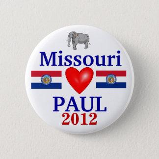 Ron Paul 2012 Missouri 6 Cm Round Badge