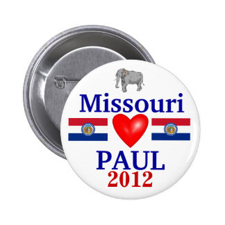 Ron Paul 2012 Missouri 6 Cm Round Badge