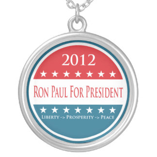 Ron Paul 2012 Necklace