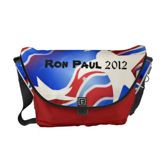 Ron Paul 2012 Patriotic Messenger Bag