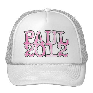 Ron Paul 2012 PINK Hats