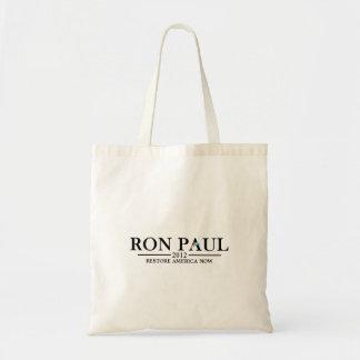 Ron Paul 2012 - Restore America Now Bag