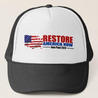 Ron Paul 2012: Restore America Now Trucker Hat