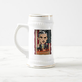 RON PAUL 2012 REVOLUTION BEER STEIN