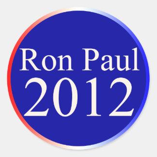 Ron Paul 2012 Round Sticker