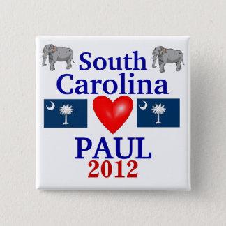 Ron Paul 2012 South Carolina 15 Cm Square Badge