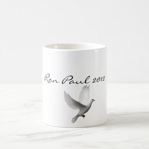 Ron Paul 2012 Supporter Peace Mug