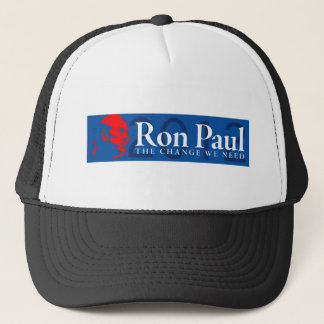 Ron Paul 2012 - The Change We Need Trucker Hat